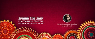 Fashion Photography Workshop by John Edwards in Pushkar Mela