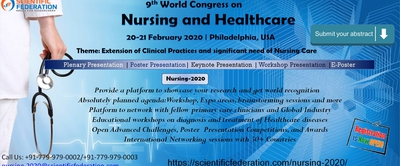 9th World Congress on Nursing and Healthcare