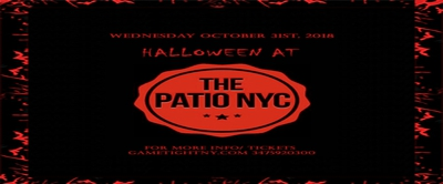 Halloween Night at Patio NYC 2018