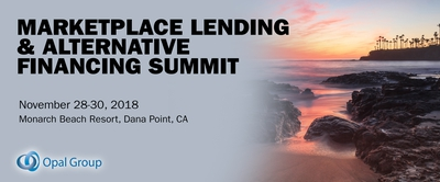 Marketplace Lending & Alternative Financing Summit