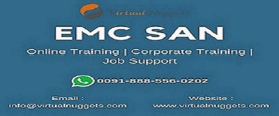EMC SAN Online Training