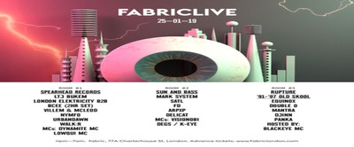 FABRICLIVE: Spearhead Records, Sun and Bass, Rupture '91-'97 Old Skool