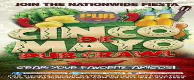 3rd Annual Cinco de Mayo Pub Crawl in New York City - May