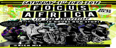 Focus Africa 8th Year Anniversary: Ghana, Congo, Gambia, Senegal