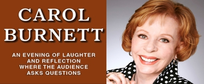 CAROL BURNETT is coming to New Brunswick