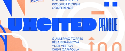 UXcited Prague — product design conference