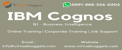 IBM Cognos BI Online Training | VirtualNuggets