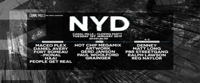 NYD: Canal Mills Closing Party