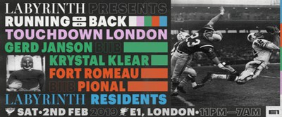 Running Back - Touchdown London