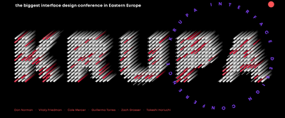 Krupa. Interface Design Conference