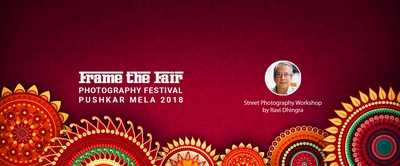 Photography Workshop by Ravi Dhingra in Pushkar Mela