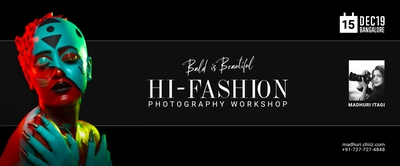 BALD IS BEAUTIFUL- Hi Fashion Photography Workshop