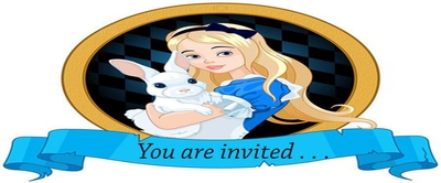 Alice in Wonderland Storybook Tea Party