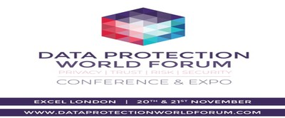 Data Protection World Forum Conference and Expo at ExCeL, London