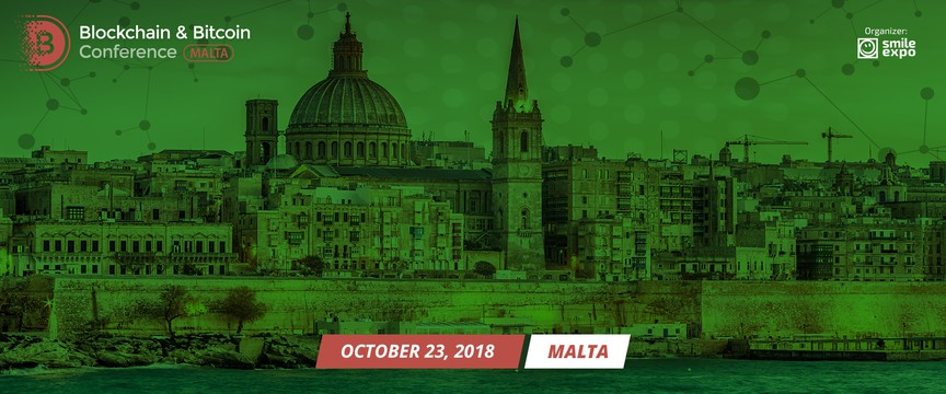 Blockchain & Bitcoin Conference Malta - Second B2B event in Malta organized by Smile-Expo. A large-scale event dedicated to blockchain, topical trends in the cryptocurrency market.