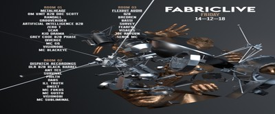 FABRICLIVE: Metalheadz, Dispatch Recordings & Flexout Audio