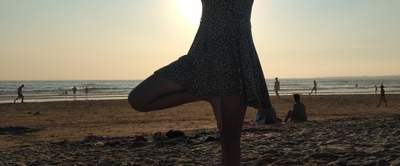 Sunset Yoga on Costa da Caparica