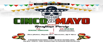 Cinco de Mayo Rooftop Brunch Party at Ravel Penthouse 808