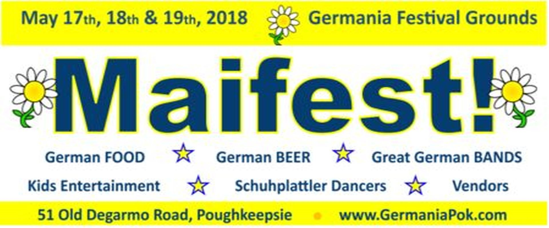 17 May 2019: Maifest 2019! - Fun, Festive, Authentic MAIFEST