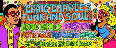 Craig Charles Funk and Soul Christmas Bash - Scarborough