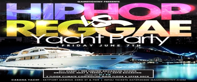 New York Hip Hop vs. Reggae Yacht Party at Skyport Marina