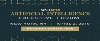 Wall Street Journal Pro Artificial Intelligence Executive