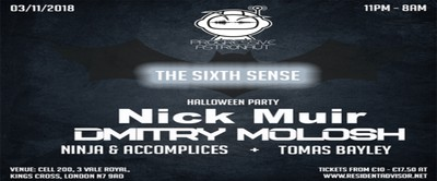 Progressive Astronaut - The Sixth Sense - Halloween Party