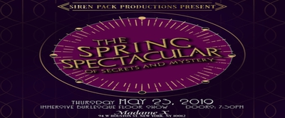 The Spring Spectacular of Secrets & Mystery