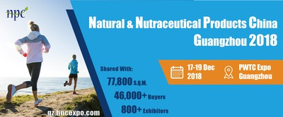 NATURAL & NUTRACEUTICAL PRODUCTS CHINA GUANGZHOU 2018
