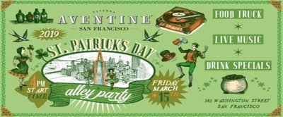 Taverna Aventine St Patrick's Day Block Party