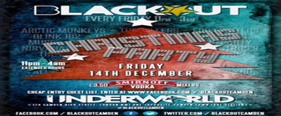 Blackout Club Xmas Party * at The Underworld