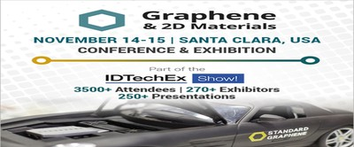 Graphene And 2D Materials - Conference And Exhibition, Santa Clara