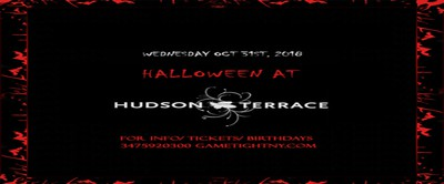 Hudson Terrance Halloween Rooftop Party 2018