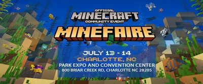 Minefaire: Official MINECRAFT Community Event (Charlotte,NC)