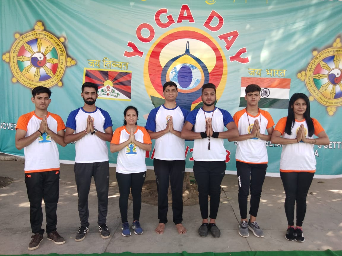 Date - 21 June 2018 - Yoga Day