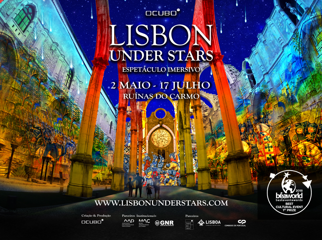 Lisbon Under Stars 2019 Official Flyer