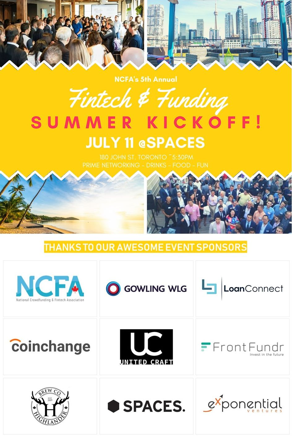 5th Annual Fintech and Funding Summer Kickoff