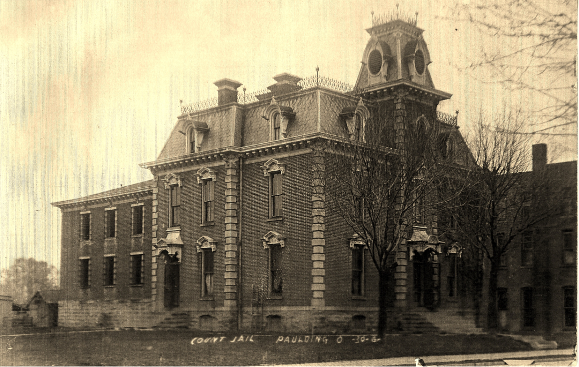 Old Paulding County Jail circa 1900s