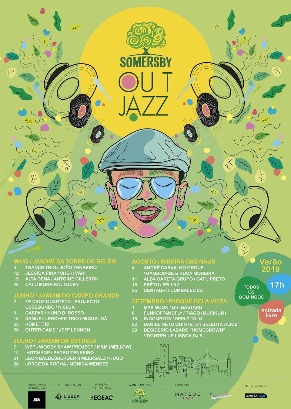 OutJazz 2019 dates and locations