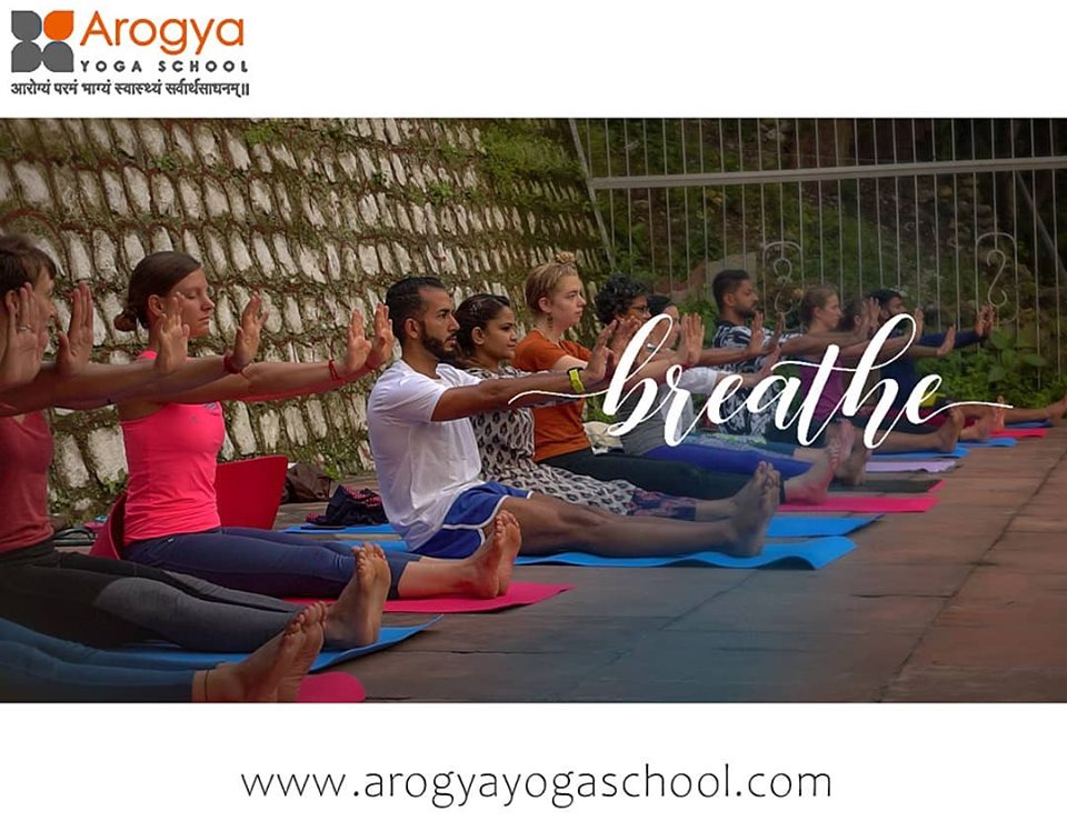 Arogya Yoga School, Registered Yoga School with Yoga Alliance USA offers 100 Hours Traditional Hatha, Ashtanga and Vinyasa Yoga Teacher Trai